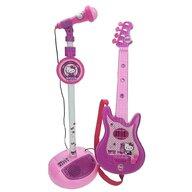 Reig Musicales - Set chitara cu microfon, Hello Kitty