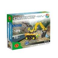 Alexander Constructor - Set constructie 189 piese metalice Constructor Hulk Excavatorul, Alexander