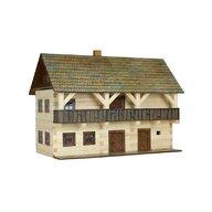 Walachia - Set constructie arhitectura Casa magistratului, 298 piese din lemn,