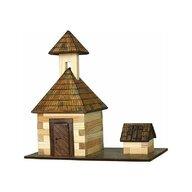 Walachia - Set constructie arhitectura Clopotnita, 68 piese din lemn,