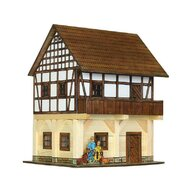 Walachia - Set constructie arhitectura Granar cu grinzi, 115 piese din lemn,