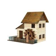 Walachia - Set constructie arhitectura Moara de apa, 196 piese din lemn,