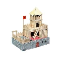 Walachia - Set constructie arhitectura Vario Fort, 194 piese din lemn,