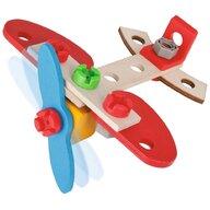 Eichhorn - Set constructie din lemn  Airplane 18 piese