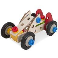 Eichhorn - Set constructie din lemn Constructor Racer, 50 piese