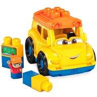 Fisher Price - Set de constructie Autobuz scolar Cu 6 piese
