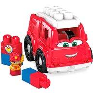 Fisher Price - Set de constructie Masina de pompieri Cu 6 piese