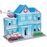Fiesta Crafts - Puzzle 3D Spital Puzzle Copii, piese 122