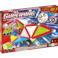 Supermag - Set constructie Tags Wheels, 103 piese