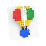 Meli Minis - Set creativ de constructie, Minis 200 piese, Meli
