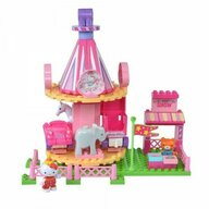 Androni Giocattoli - Set cuburi constructie Carusel Hello Kitty Unico