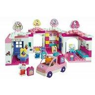 Androni Giocattoli - Set cuburi constructie Centru comercial Hello Kitty Unico