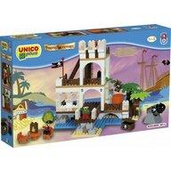 Androni Giocattoli - Set cuburi constructie Insula cu Pirati Unico