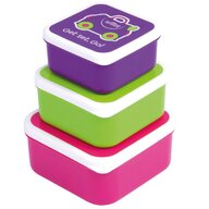 Trunki - Set recipiente Snack Pots, Roz