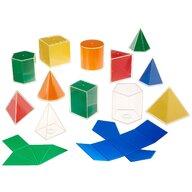 Edx Education - Set Forme geometrice 2D 3D 12 piese