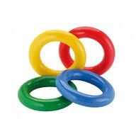 Gymnic - Jucarie de echilibru Inele Gym Ring 4 buc, Pentru stimulare senzoriala din Cauciuc