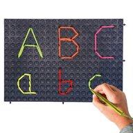 Nexus - Tablita de scris Set plansete 4 buc, Pentru pregatirea scrierii cu mana, Negru