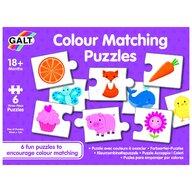 Galt - Set de 6 puzzle-uri - Lumea culorilor