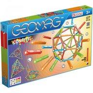 Geomag - Set de constructie magnetic Confetti, 127 piese