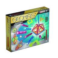 Geomag - Set de constructie magnetic Glitter, 44 piese