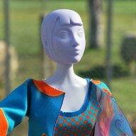 Dress Your Doll - Set de croitorie hainute pentru papusi Couture Betty Phoenix,