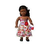 Dress Your Doll - Set de croitorie hainute pentru papusi Couture Nataly Flowers,