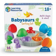 Learning Resources - Set figurine Puiuti de dinozauri Pentru sortat