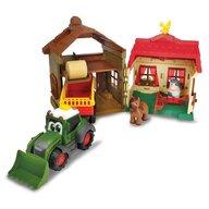 Dickie Toys - Set  Happy Farm House cu tractor si accesorii