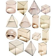 Miniland - Set didactic corpuri geometrice 15 piese