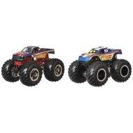 Hot Wheels - Set vehicule 4 vs 1 by Mattel Monster Trucks