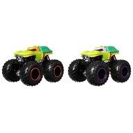 Hot Wheels - Set vehicule Michelangelo vs Donatello by Mattel Monster Trucks