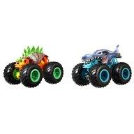 Hot Wheels - Set vehicule Motosaurus vs Mega Wrex by Mattel Monster Trucks