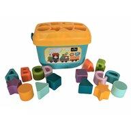Lorelli - Cuburi , 16 piese, Diverse forme, Multicolor