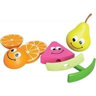 Fat Brain Toys - Set de alimente Fructele prietenoase Senzoriale