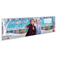 Multiprint - Set pictura 96 piese, 4 stampile, tus, 60 carioci, 30 stickere si caiet cu activitati Frozen 2  MP18981