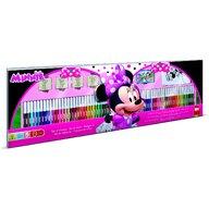 Multiprint - Set pictura 96 piese, 4 stampile, tus, 60 carioci, 30 stickere si caiet cu activitati Minnie  MP18866
