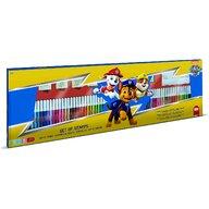 Multiprint - Set pictura 96 piese, 4 stampile, tus, 60 carioci, 30 stickere si caiet cu activitati Paw Patrol  MP18903
