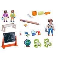 Playmobil - Set figurine Scoala , City Life , Set portabil