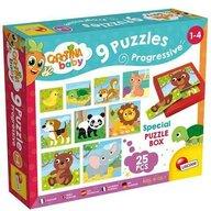 Lisciani - Puzzle animale Progresive Puzzle Copii, piese 25