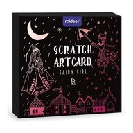 Mideer - Set creativ Scratch art Zana 15 piese