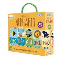 Sassi - Puzzle educativ Invatam alfabetul Puzzle Copii, piese 20