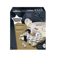 Tommee Tippee - Set sterilizator pentru microunde si pompa de san manuala