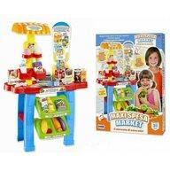 RS Toys - Set supermarket cu accesorii, balanta si scanner, inaltime 76 cm
