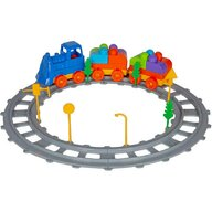 Ucar Toys - Set Tren 43 piese Magic Blocks