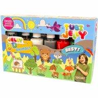 Tuban - Set Tubi Jelly cu 6 culori - Animale  TU3326