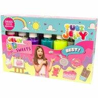 Tuban - Set Tubi Jelly cu 6 culori - Dulciuri  TU3323