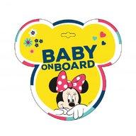 SEVEN-Disney - Baby la bord stiker Minnie