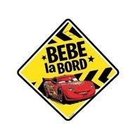Seven - Semn auto Bebe la Bord Cars