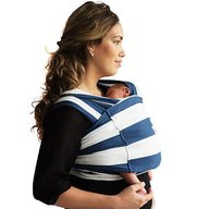 Baby K'tan - Sistem purtare Baby Carrier Print, Nautical, Marimea L