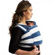 Baby K'tan - Sistem purtare Baby Carrier Print, Nautical, Marimea XS